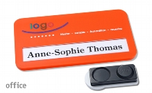 "Name badge office ""color-print"""