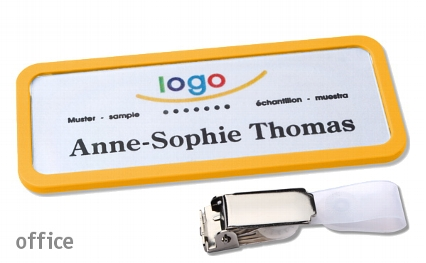 "Name badge office 30 ""classic"""