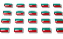 """Flag stickers """"Bulgaria"""""""