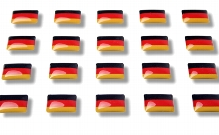 "Flag stickers ""Germany"""