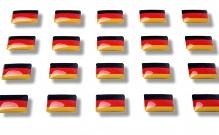 """Flaggensticker """"Deutschland"""""""