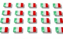 """Flaggensticker """"Italien"""""""