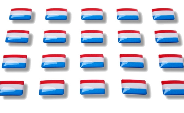 Flag Stickers Netherlands