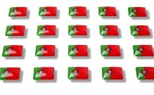 "Flaggensticker ""Portugal"""